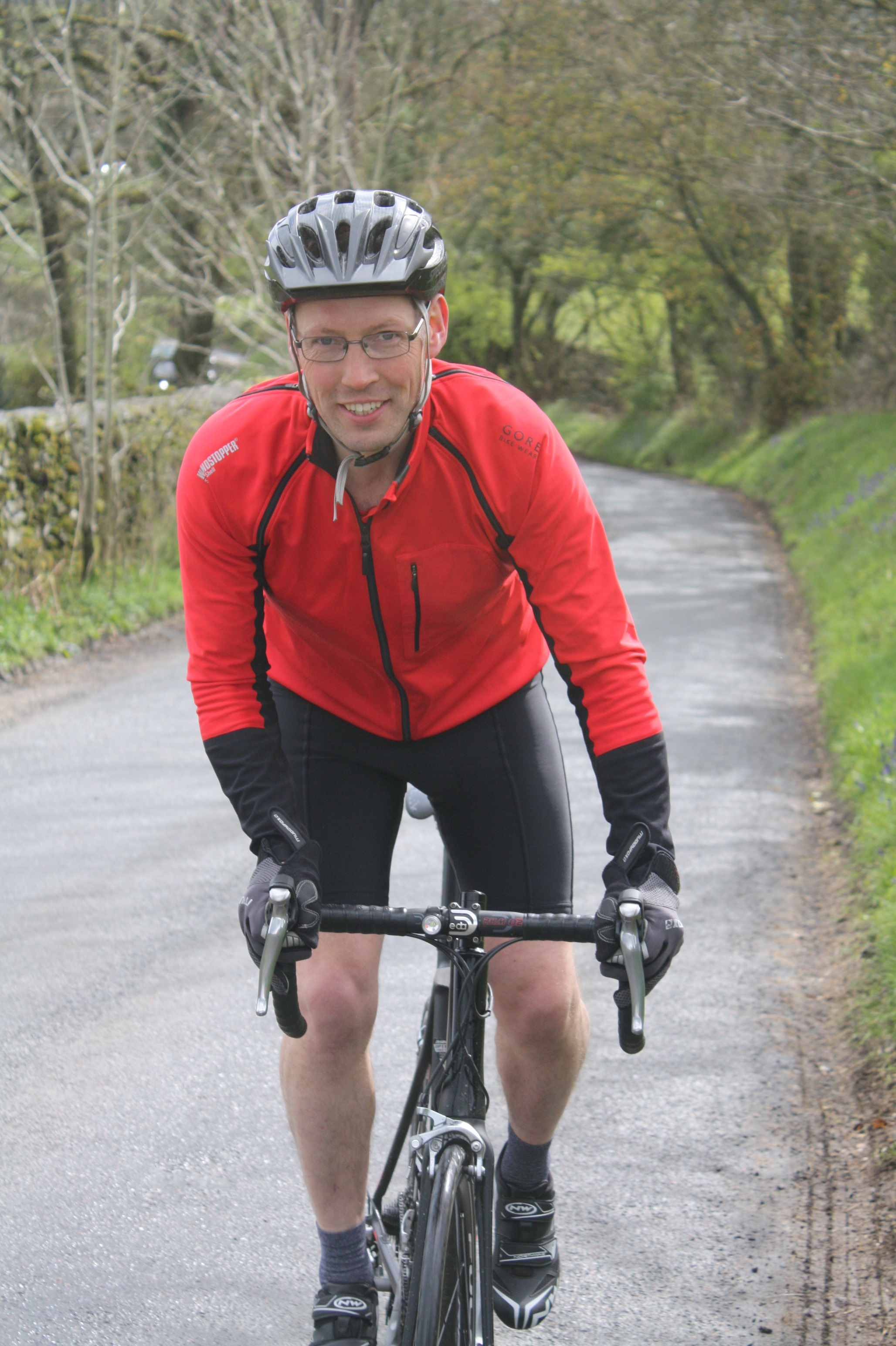 Peter Bascombe is going to be cycling 112 miles for charity