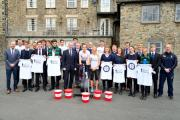 The Sedbergh School team of 24 included pupils from Year 11, 12 and 13, and 12 teachers including Headmaster Andrew Fleck