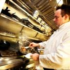 The Westmorland Gazette: Justin Woods, head chef at The Castle Green Hotel, Kendal, and Greenhouse restaurant