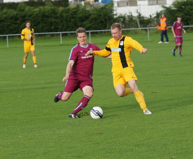 Kendal County ran out 2-1 winners in their clash with Swarthmoor (Picture by Richard Edmondson)