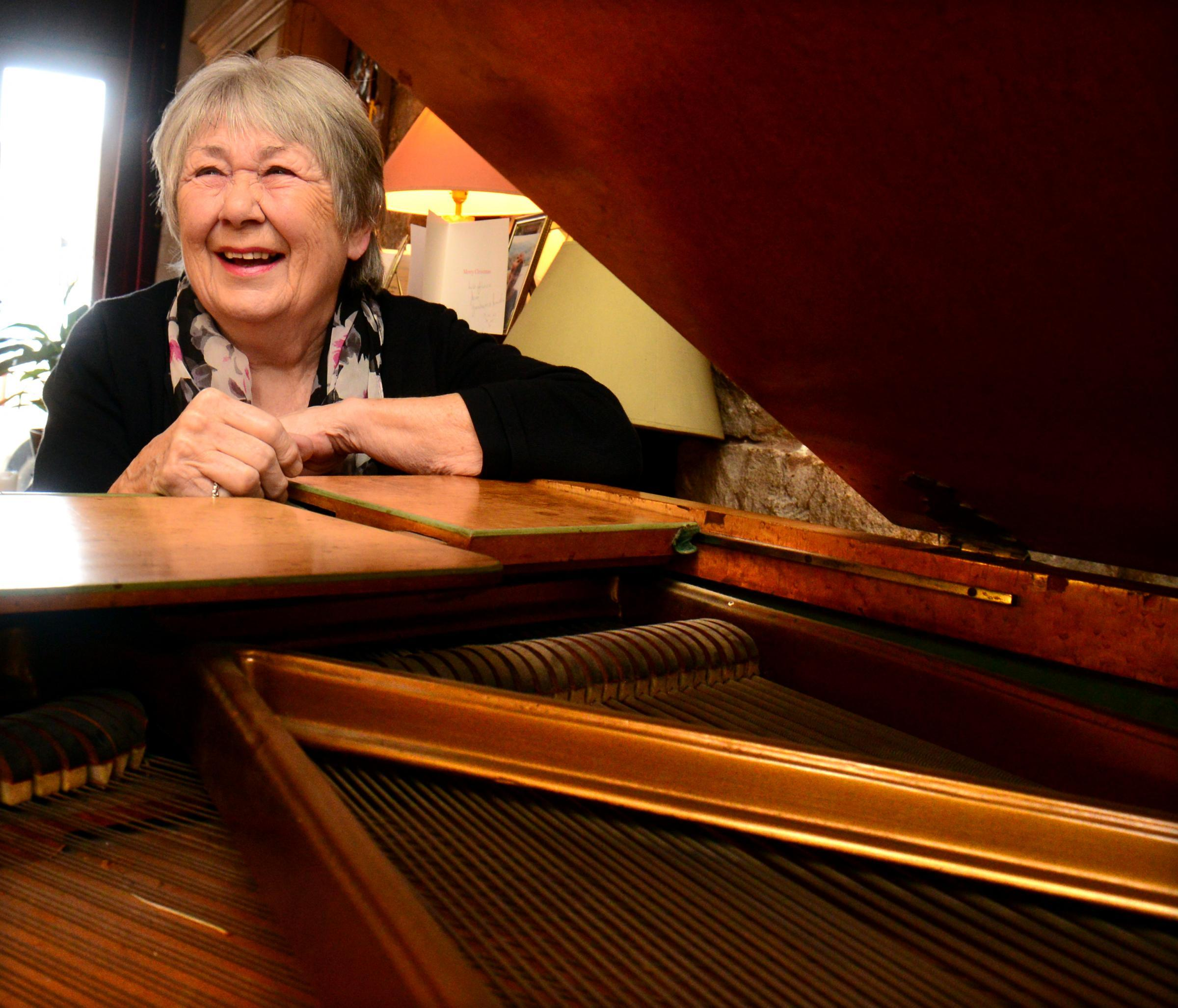 Legendary music teacher and former member of the well-known Trio Vignette ensemble, pianist Joyce Humber (pictured) will be tinkling the ivories during her popular Christmas Eve gathering at the Brewery Arts Centre
