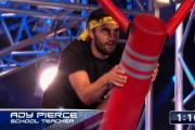 Ady Pierce on Ninja Warrior UK
