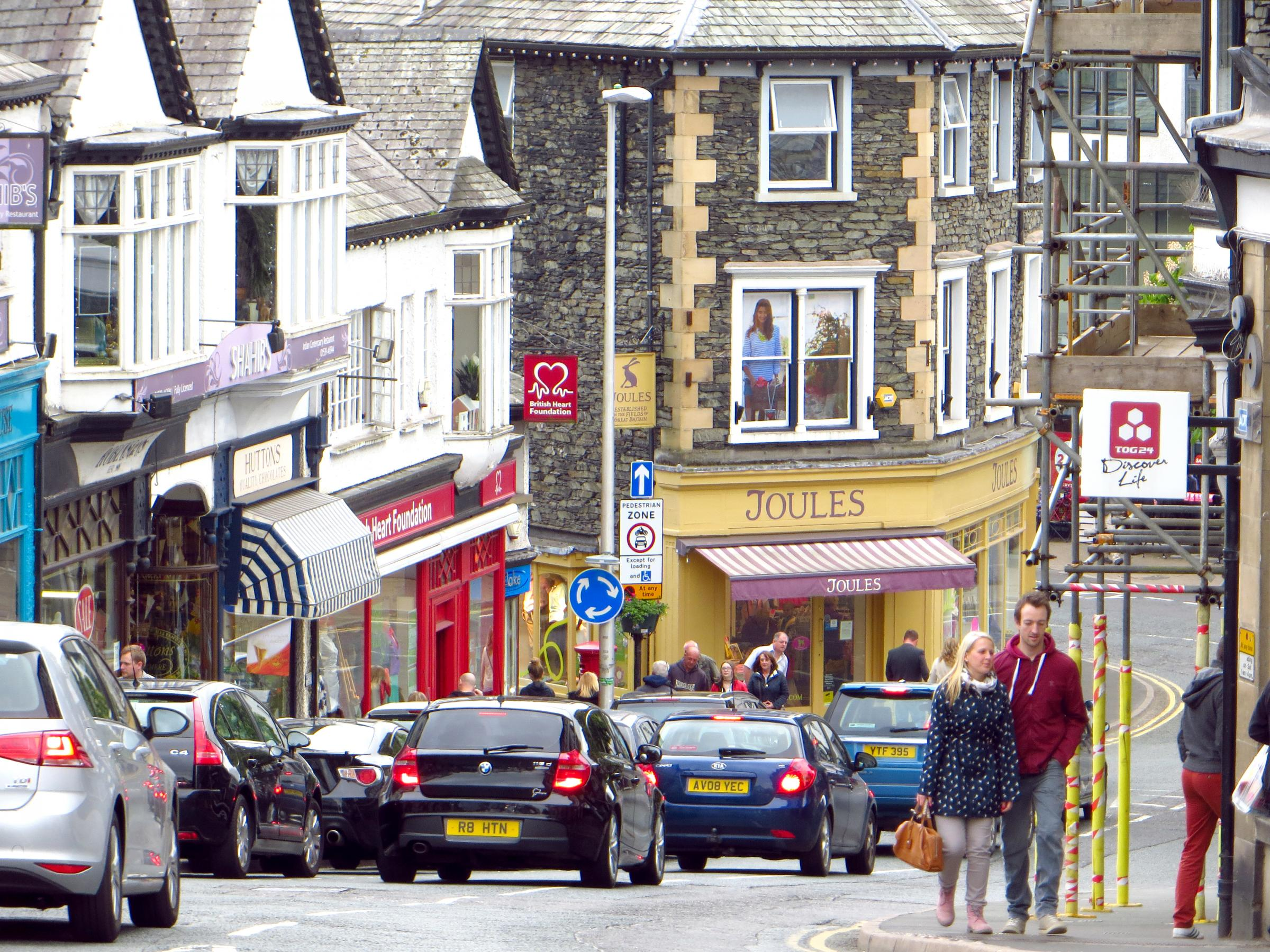 Bowness - a tourism hotspot