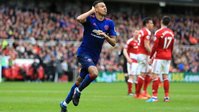 Jesse Lingard lifts Manchester United to victory and up to fifth     Jesse Lingard lifts Manchester United to victory and up to fifth