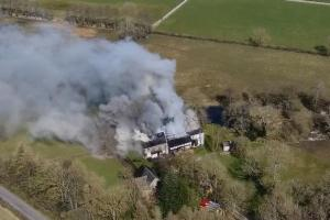 The Westmorland Gazette: VIDEO: Farmhouse damaged in fire
