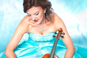 Leading international violinist, Tasmin Little, brought an extra special distinction to the final concert of the Lakeland Sinfonia Concert Society season, performing with the eminent BBC Philharmonic. Pic Benjamin Ealovega