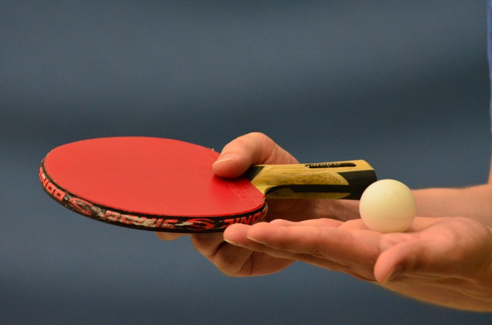Table tennis (Picture from (Pixabay)