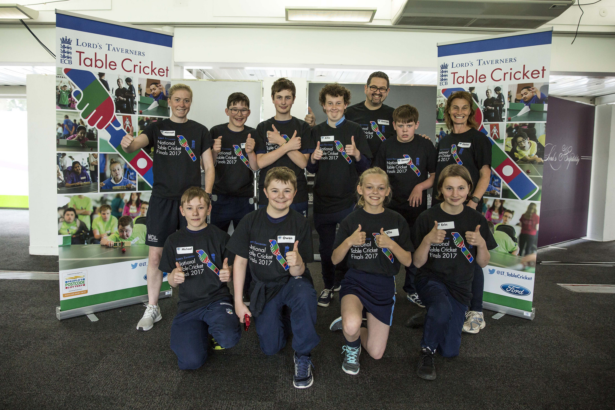 Ulverston Victoria High School took part in the Lord's Taverners table cricket finals