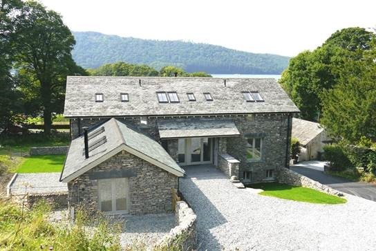 The winning barn conversion by Simpson Construction Ltd, of Kendal