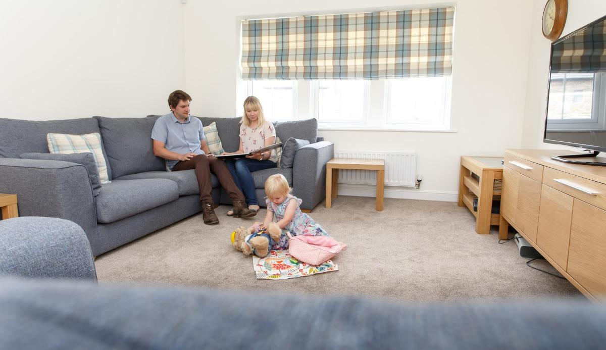 property harding family are the first to move in at ash tree park