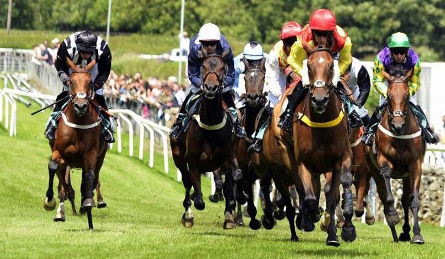 Cartmel Races (Picture by Jon Granger).