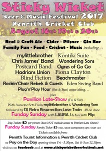 Sticky wicket beer festival
