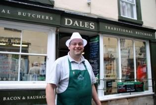 Mark Duckworth of Dales Traditional Butchers, Kirkby Lonsdale