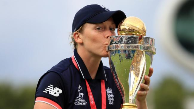 England captain Knight tells tale of women's cricket 'neglect'