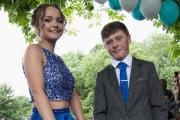 Dalton Dowdales School Prom at the Netherwood Hotel Grange. Steph Scott-Wise and Kieron Grant