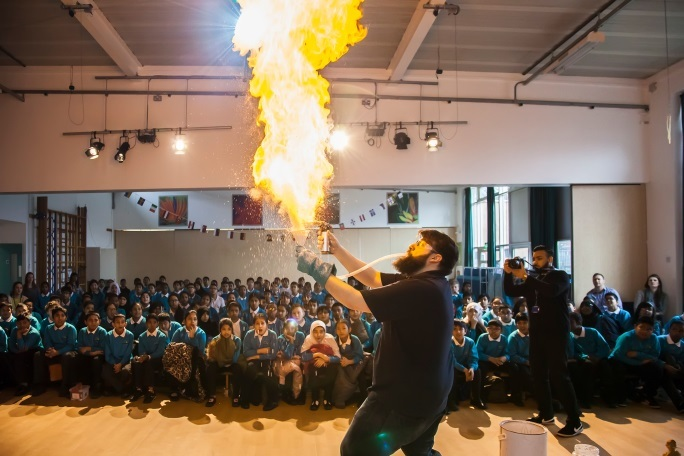 Expect excitement at the science shows