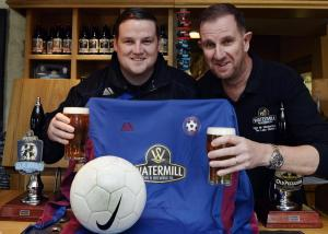 The Westmorland Gazette: Ings inn steps up for Staveley football club