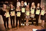Award winning pupils at the Lakes School
