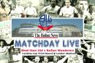MATCHDAY LIVE: West Ham United v Bolton Wanderers