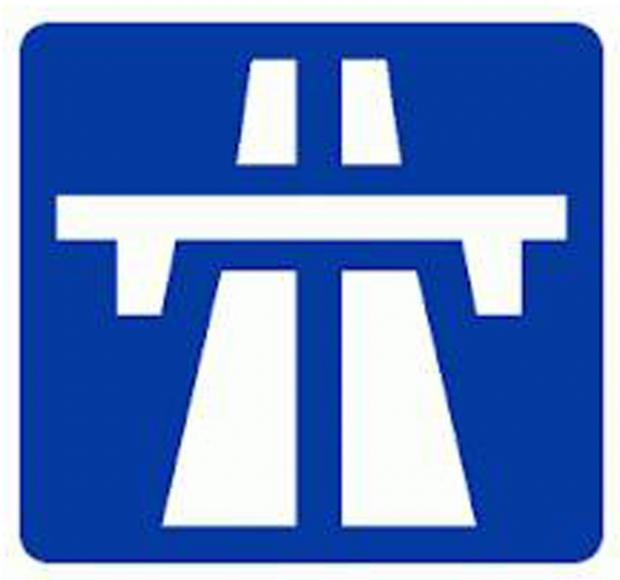 Traffic on M6 after accident at Carnforth