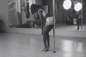 Pole dancing video released after more than £1,000 raised