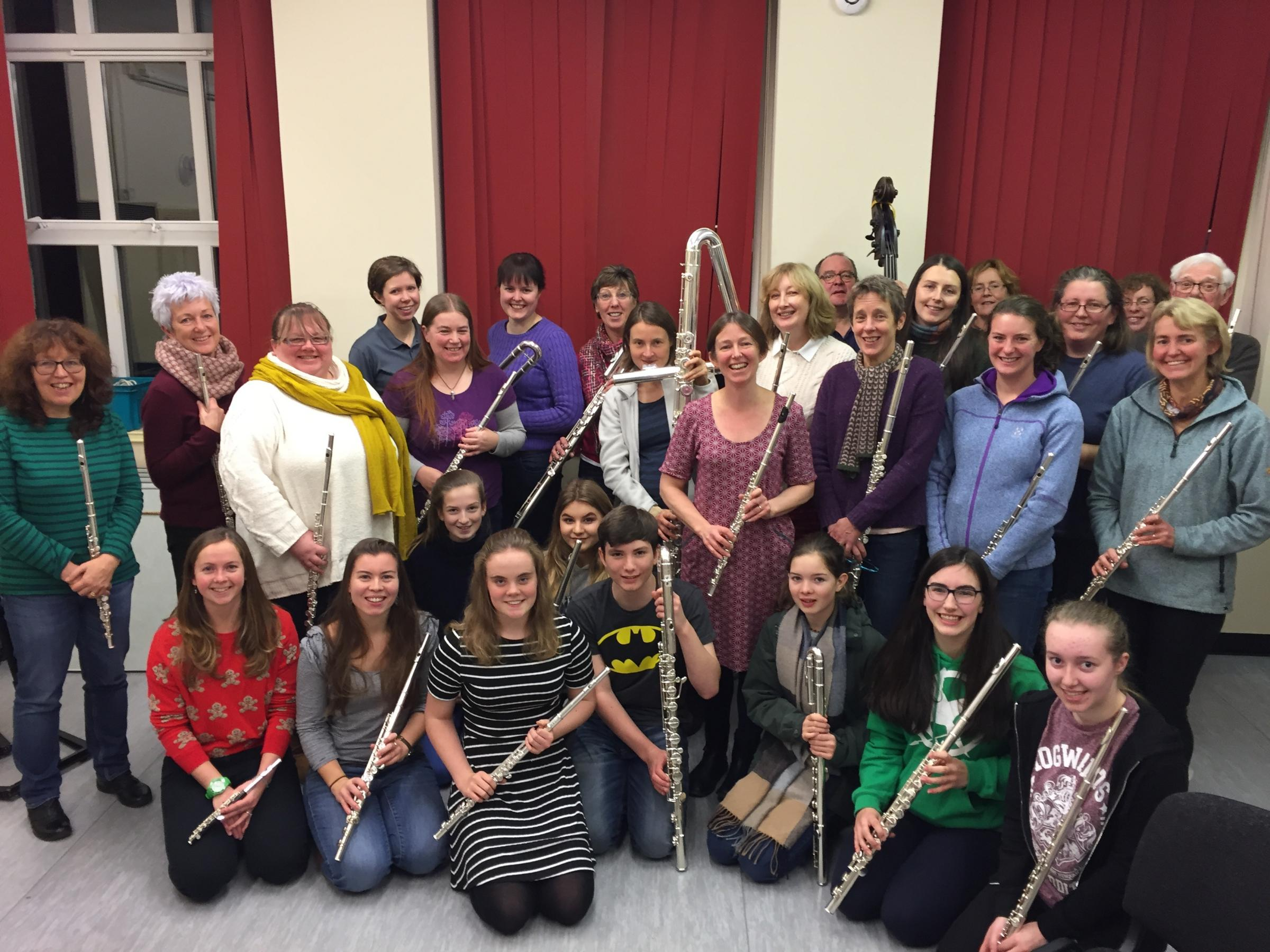 Flutes and Co stage a family-friendly Not Just a Christmas concert on Sunday, December 10 (3pm) at St Anne's Church, Ings, led by musical director, Sue Nicholls
