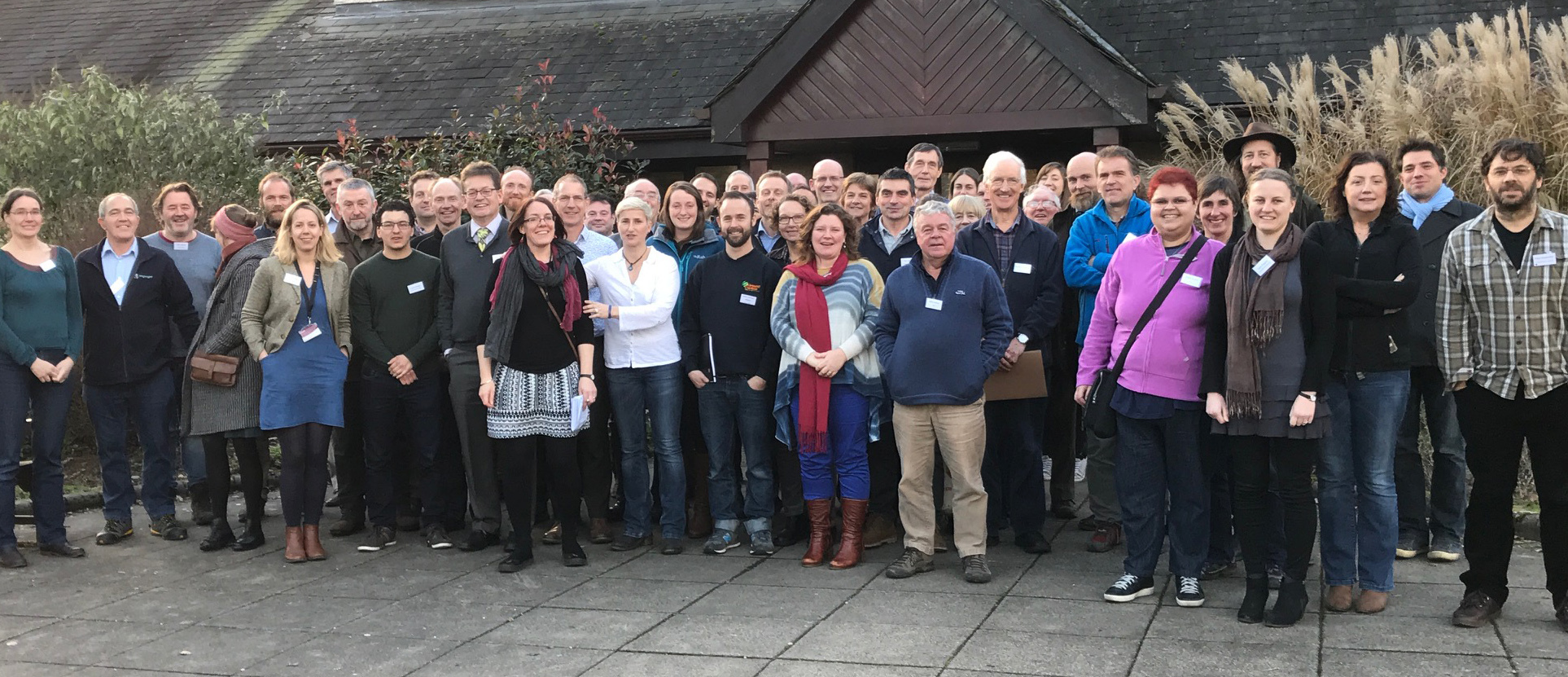Delegates gathered at Murley Moss, Kendal, to discuss the potential for paludiculture in Cumbria
