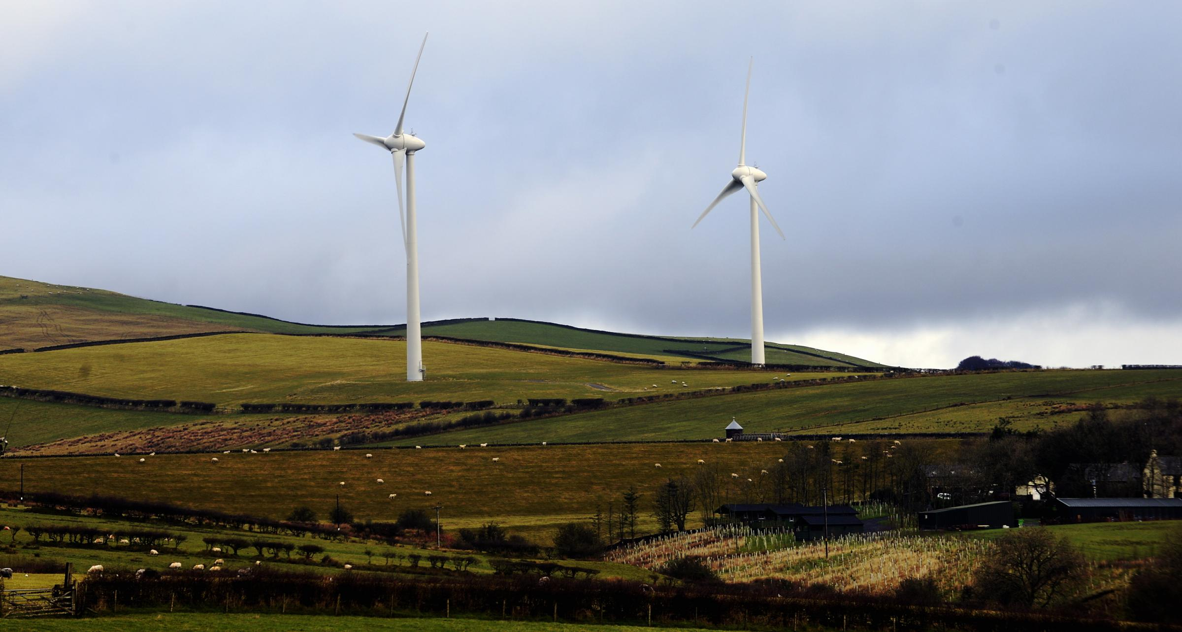 Part of the Kirkby Moor wind farm (Picture by JON GRANGER)