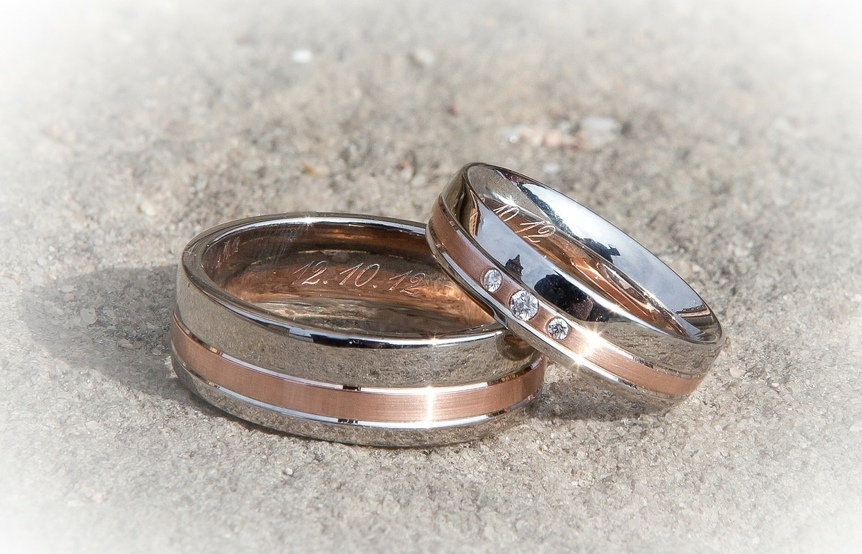 Wedding rings (Picture from Pixabay)