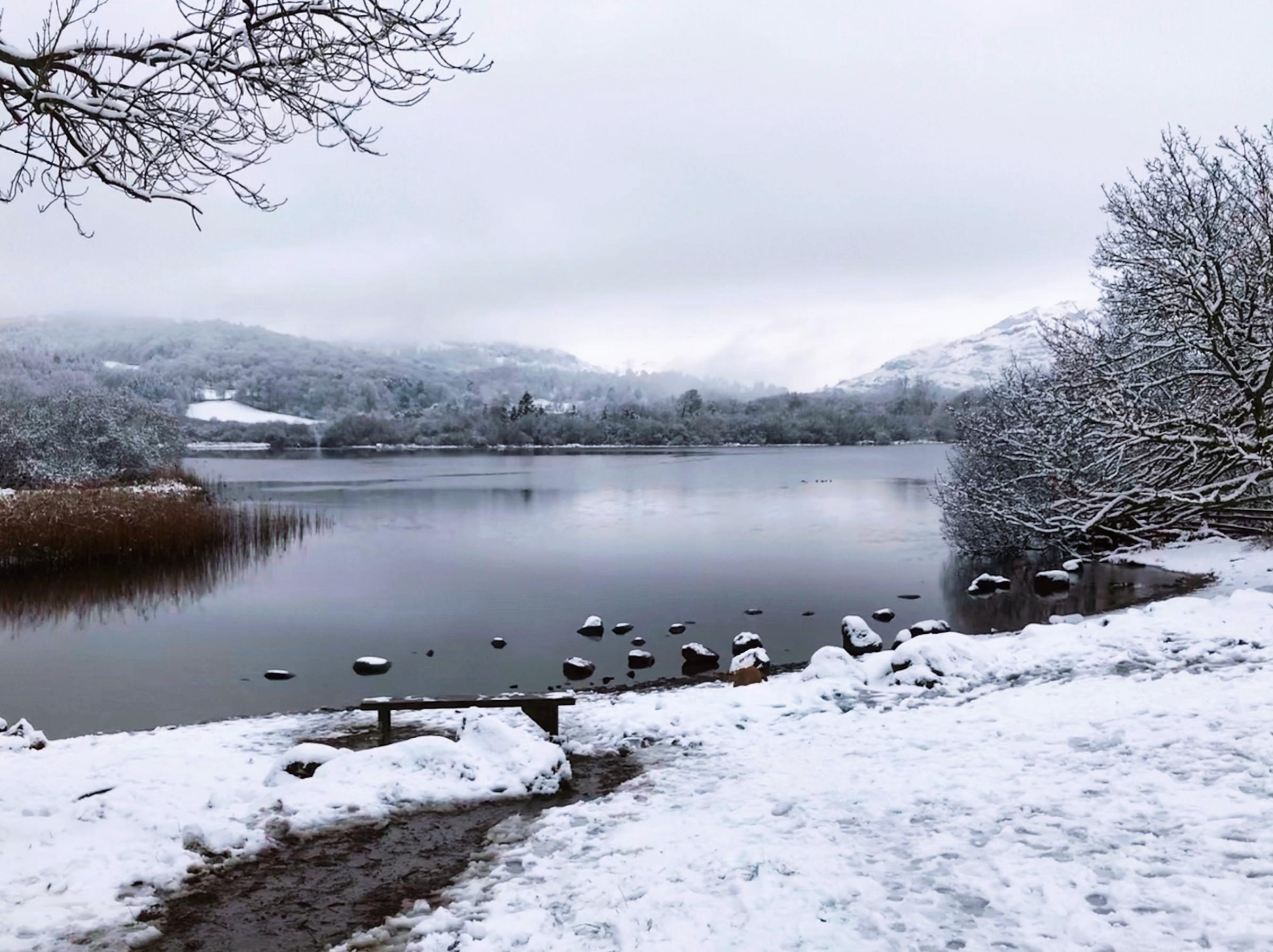 READER'S PHOTO:  A wintry view of Elterwater
