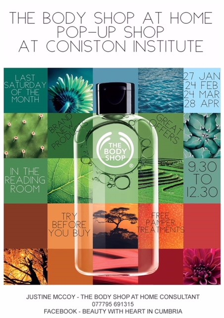 The Body Shop at Home Pop-Up Shop