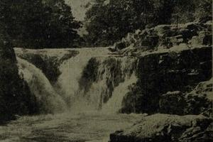 TODAY'S PHOTO FROM THE GAZETTE ARCHIVES: Skelwith Falls after heavy rain in 1941