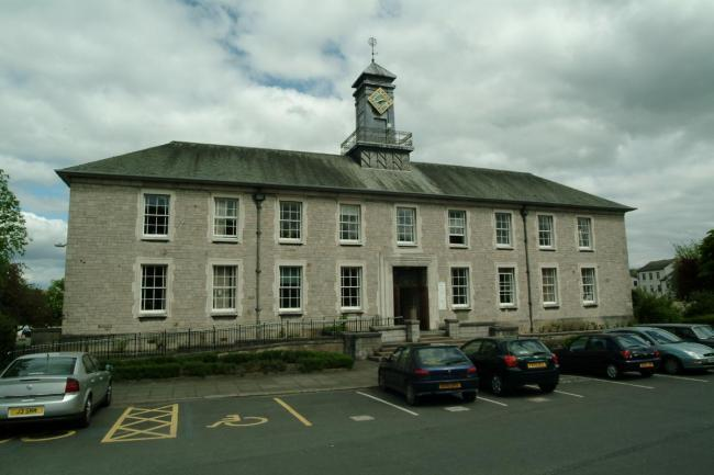 Kendal County Hall.