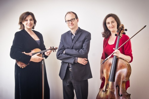 Internationally renowned chamber music trio, Lucy Gould (violin), Benjamin Frith (piano) and Alice Neary (cello), mesmerised the Kendal Midday Concert Club audience with the quality of their ensemble work