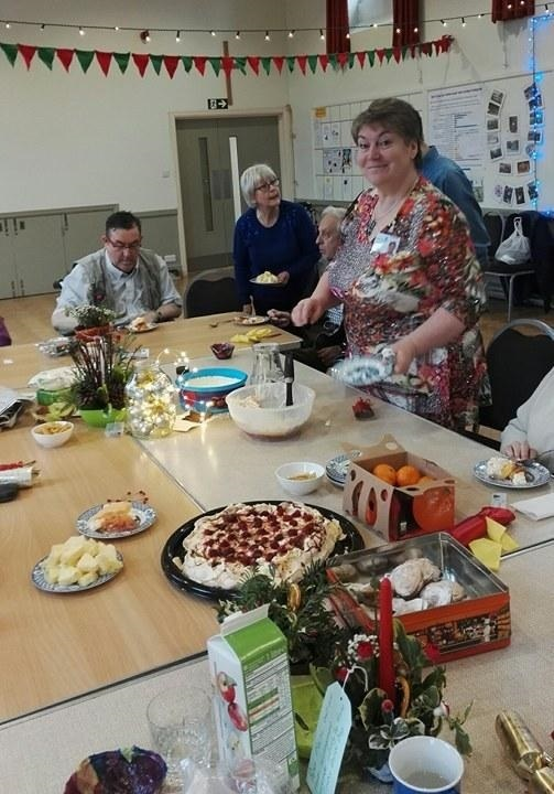 Carer Donna Ford is part of the team running creative activities for people living with dementia