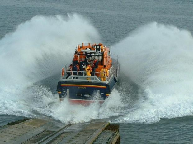 Barrow RNLI Lifeboat. Picture by John Falvey