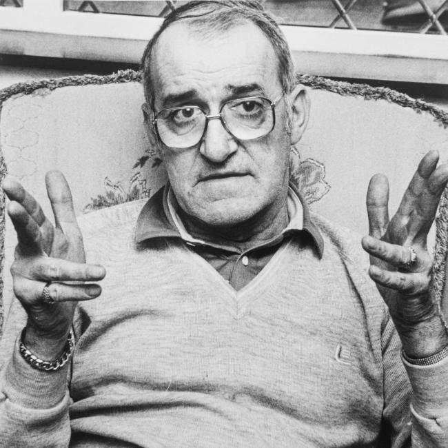 Jim Bowen at his home in Arkholme in the early 1990s