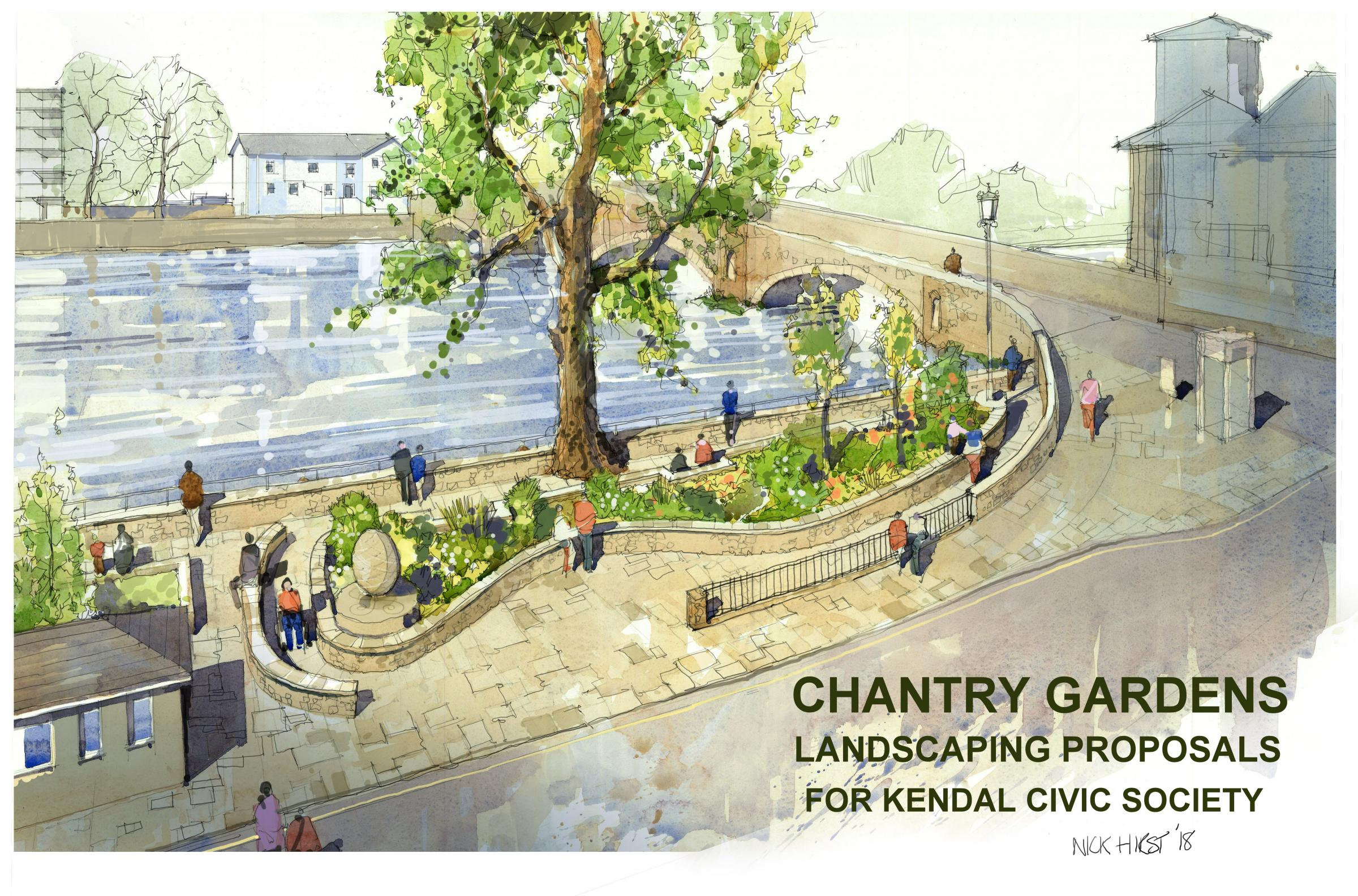 New Public Garden To Be Created At Kendal