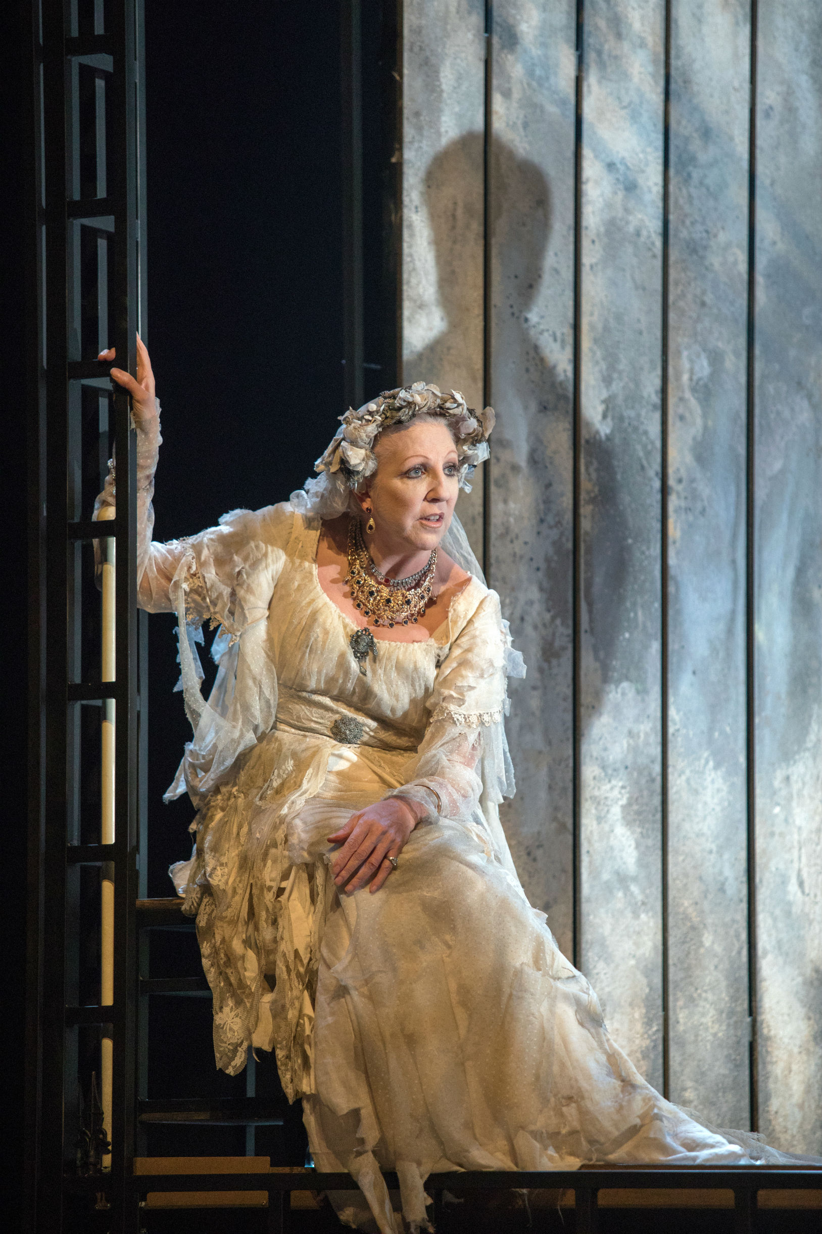 Nichola McAuliffe as the iconic Miss Havisham stole the show in Great Expectations at Theatre by the Lake. Picture: Lisa Roberts