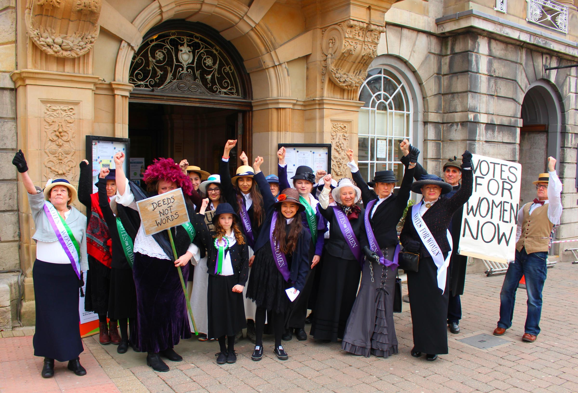 A Public Meeting to Plan Strong Women Street Theatre