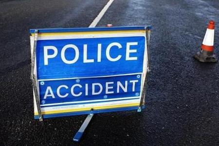A590 blocked both ways following accident