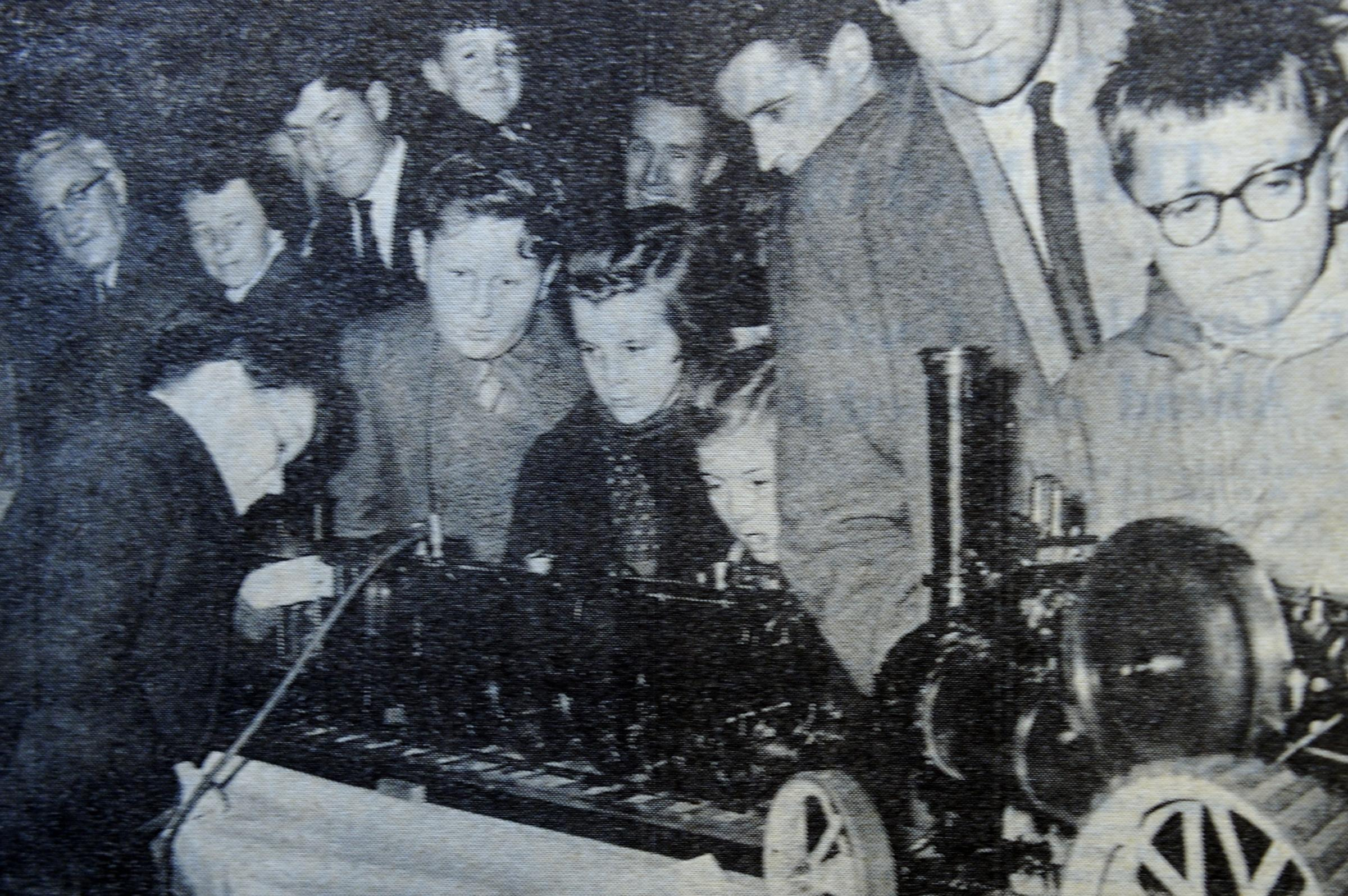 Kendal Model Engineering Society display in 1961