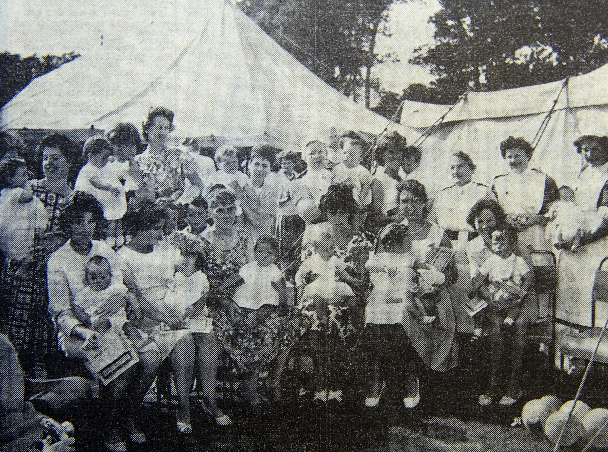 Baby show at the Bowness Gala in 196