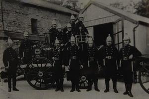 TODAY'S PHOTO FROM THE GAZETTE ARCHIVES: Grange Fire Brigade in 1906