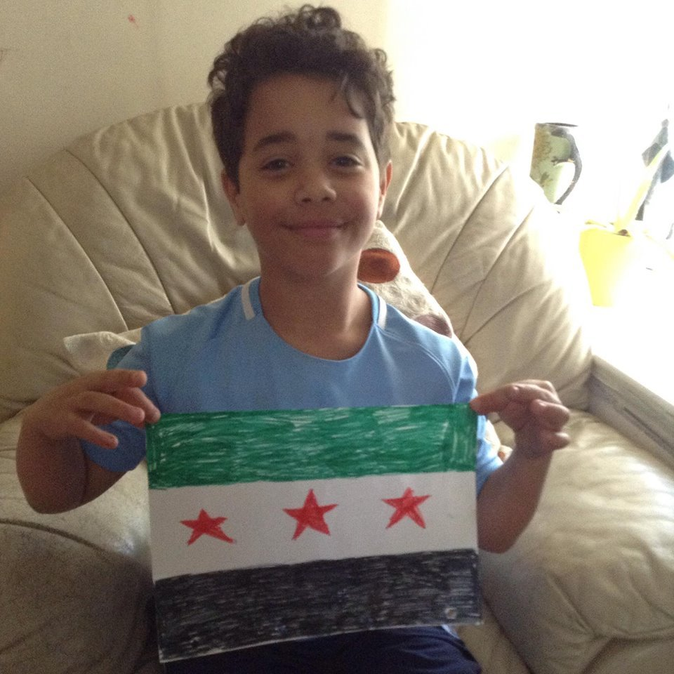 Ali Khalil is raising money for victims of the gas attacks in Syria