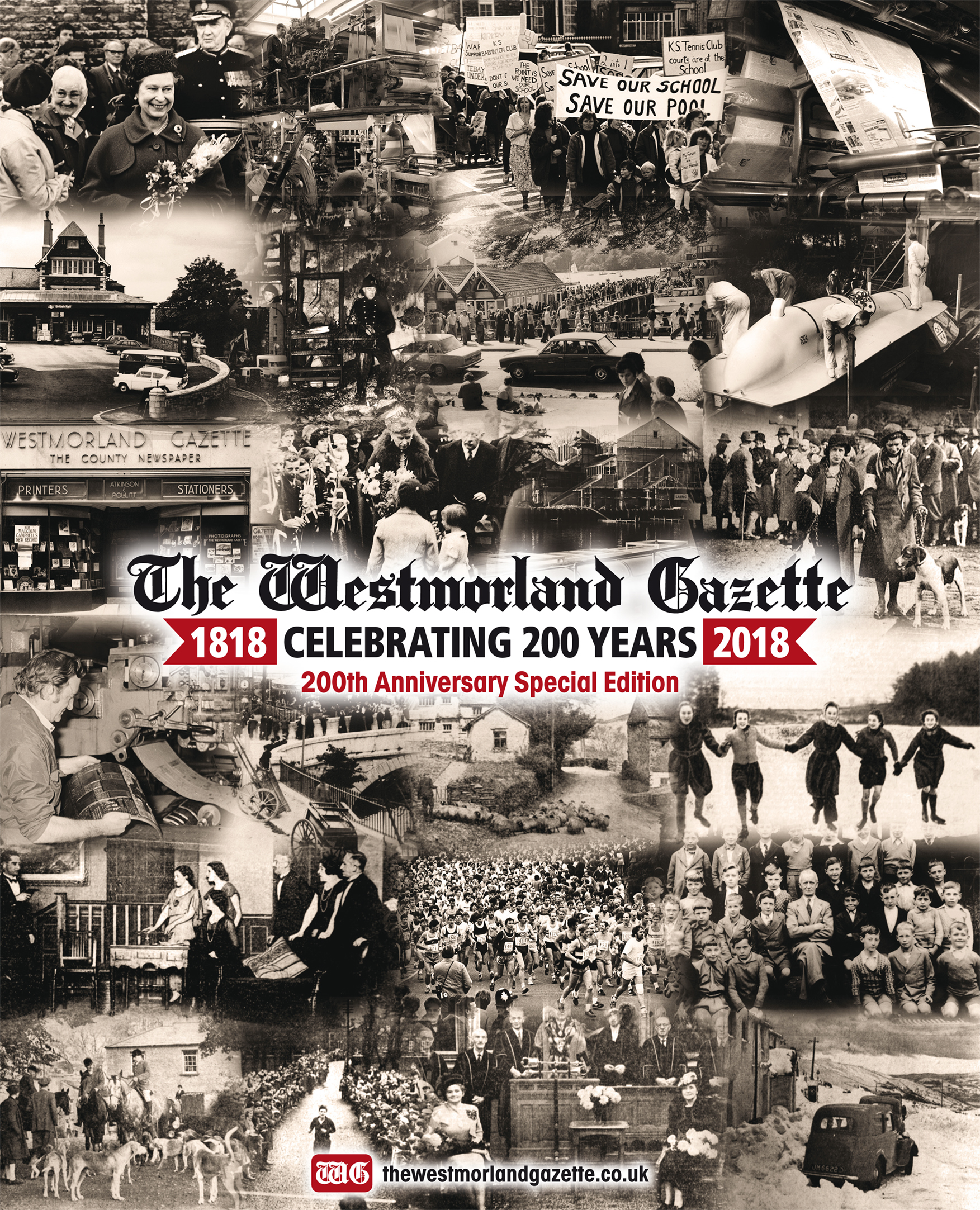 Don't miss your 48-page supplement to mark the 200th anniversary of The Westmorland Gaztte - on sale today!