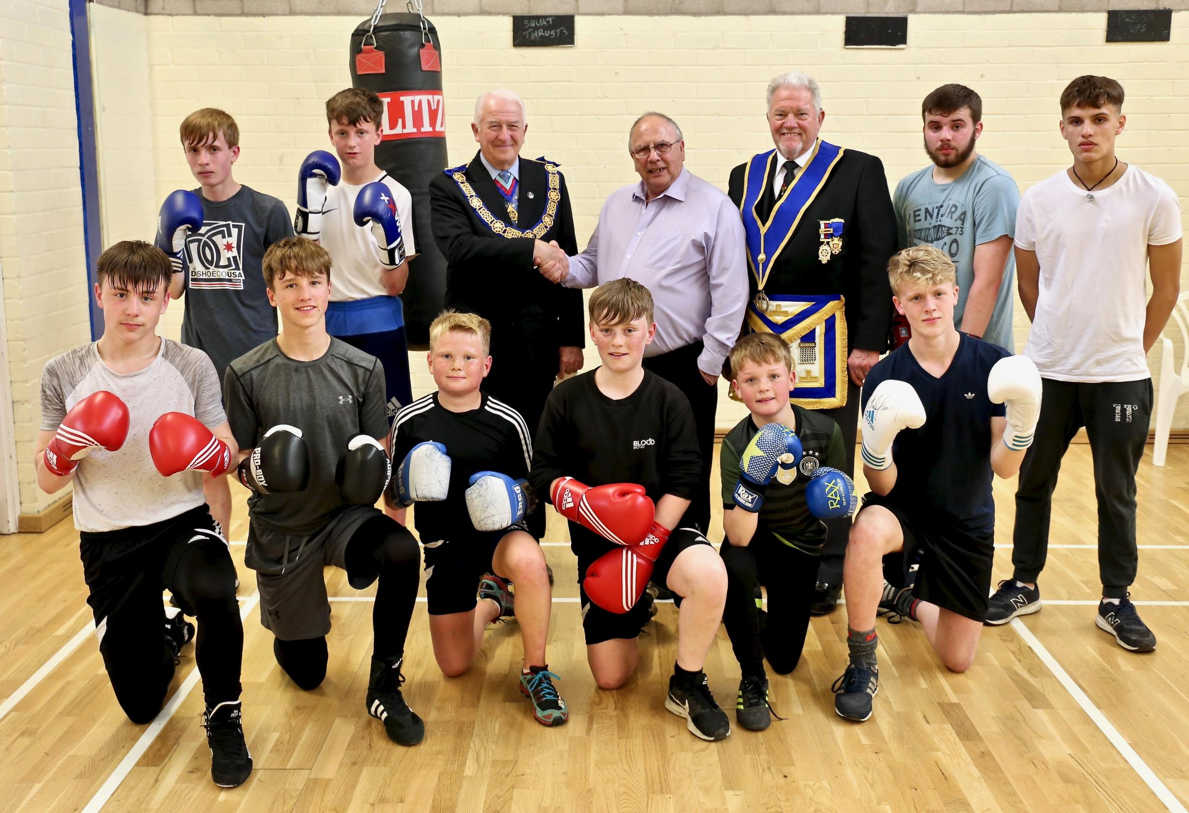 Kendal ABC members. Pic Brian S Ferrington