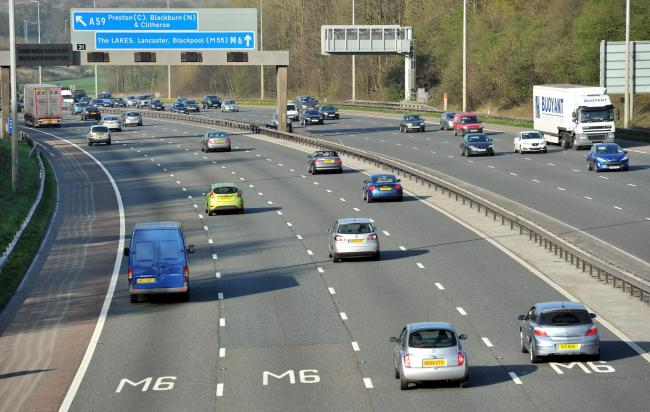 Police seize 'considerable amount of drugs' and three arrests on M6