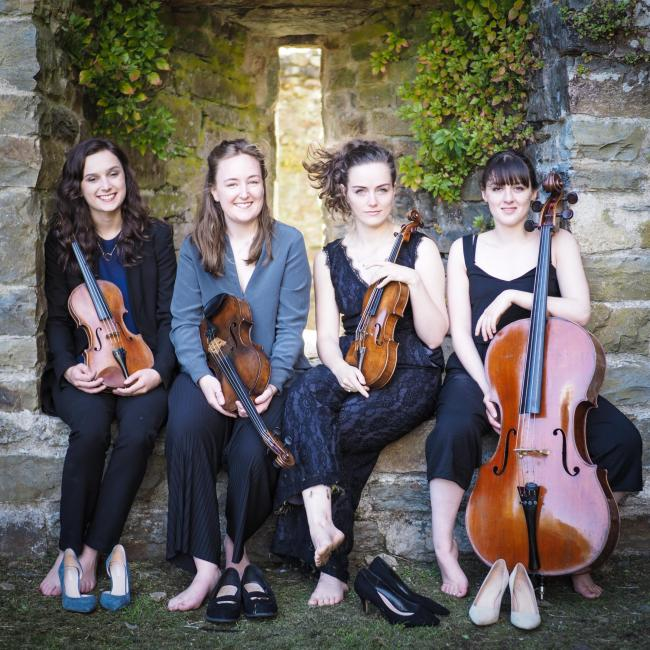 The talented members of the Behn Quartet displayed energy, beauty and brilliance in their playing during their Lake District Summer Music début performance. Picture: Ben Russell