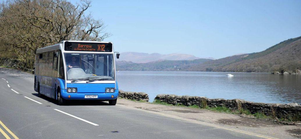 The X112 Bus Runs The X112 Runs Between Barrow And Coniston Lindsey Ings
